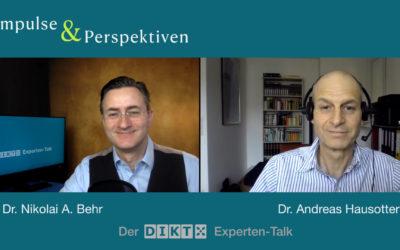 Impulse und Perspektiven – Der DIKT Experten-Talk