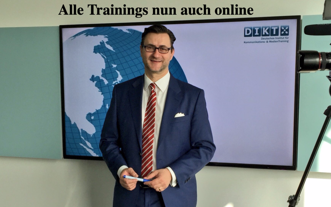 Alle DIKT Trainings nun online!