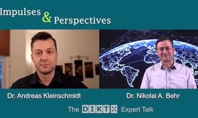 DIKT Expertentalk mit Andreas Kleinschmidt über die Zukunft des Coachings