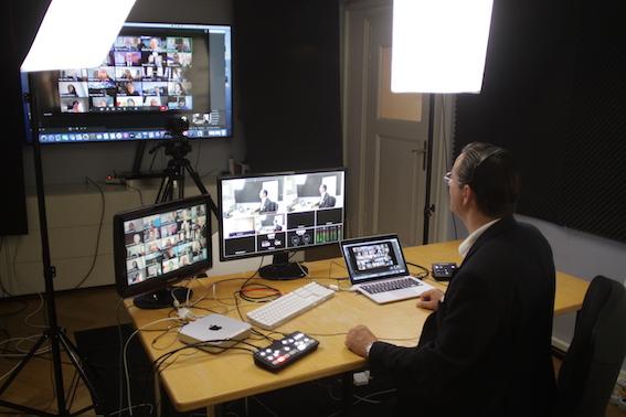 Train-the-Online-Trainer: Hinter den Kulissen in unserem Online-Studio
