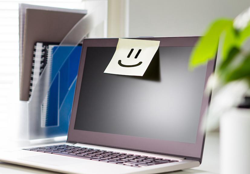 Tipp 1 für besseren Blickkontakt bei Online Seminaren