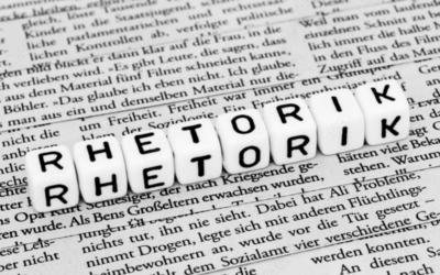 Die Kunst der Rhetorik beherrschen
